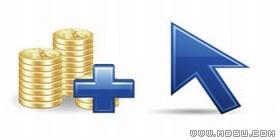 PNG图标素材-新颖的货币金融元素PNG图标素材包 256x256