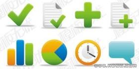GIF图标素材-50个实用web设计图标素材