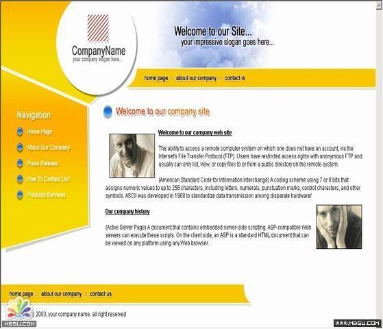 DesignEmpire 公司模板 图片模板下载