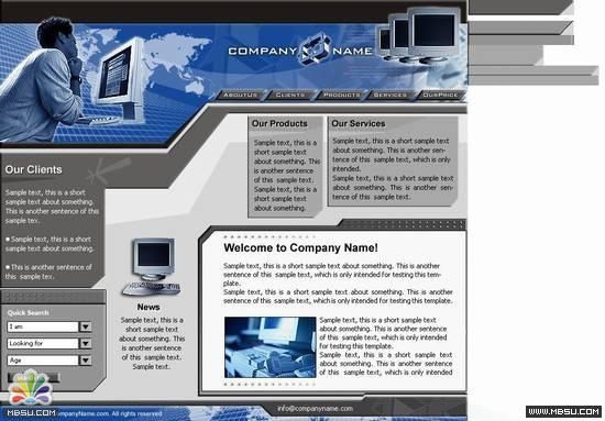 Boxedart 电脑模板 图片模板下载