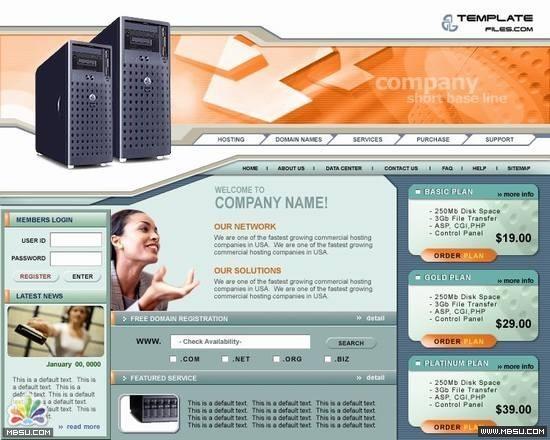 Templatefiles 主机模板 图片模板下载
